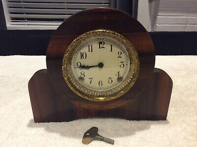 Vintage Antique Sessions Mantle Clock; Made In USA; Collectable; For Restoration