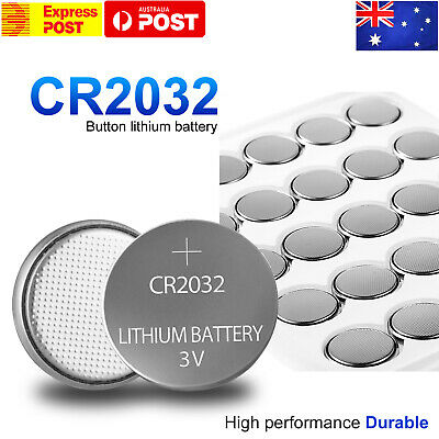 20X New Cr2032 3V Lithium Cell Battery 5004Lc 2032 Br2032 Button Batteries