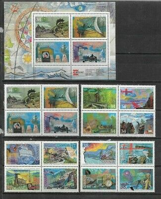pk45291:Stamps-Canada Lot of 20 Exploration Issues - MNH