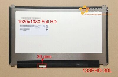 """13.3"""" Slim LED FHD Screen 30pin B133HAN02.1 ASUS UX303 UX305F U303L NON TOUCH"""