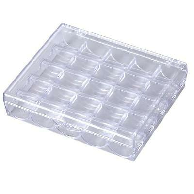 New TOP QUALITY Plastic bobbin box with 25 slots All size Organize Storage Clip