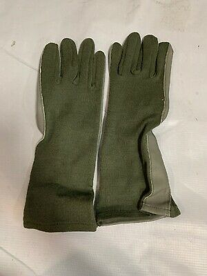Nomex Foliage Green Summer Flyer Gloves Size 11 X Large GS/FRP-2 USGI Army NEW
