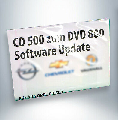 OPEL CD 500 zum DVD 800 als Software Upgrade
