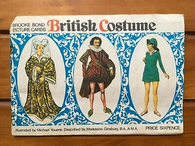 British Costume – Picture Cards – Brooke Bond