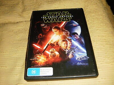 STAR WARS THE FORCE AWAKENS 2015 DVD Harrison Ford carrie fisher Episode vii R4