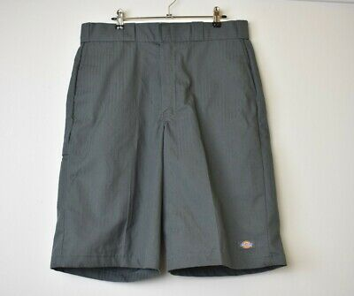 Dickies Mens Shorts Grey Size 34 Excellent Condition