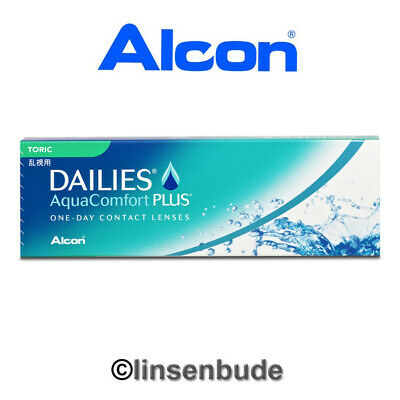 Tageslinsen Dailies AquaComfort Plus Toric - 30er Packung Alcon -3,00 bis -4,75