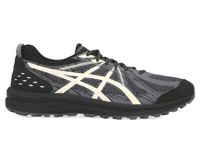 ASICS Men's Frequent Trail Running Sports Shoes - Black/Grey