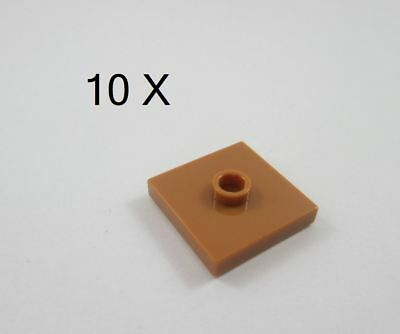 10 x 4565322 OFFICIAL LEGO PARTS  10 x 87580 GENUINE LEGO SPARES Plate 2x2 Mod