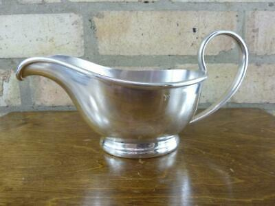 a nice vintage Larder and Burgess  EPNS silver plated Sauce boat jug