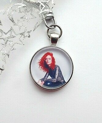 Jess Glynne Singer Photo Key Ring Strong Chain Swivel Chain  Gift Boxed