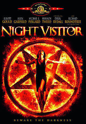Night Visitor DVD 1989 Like  New