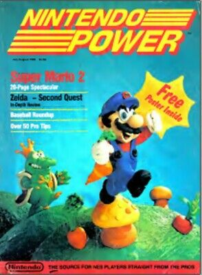 Nintendo Power Magazine Issues 1 to 145 PDF CBR on DVD disc