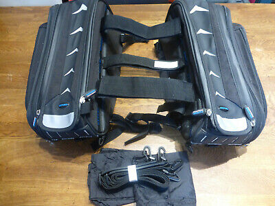 Oxford Hump Back Lifetime Luggage Motorcycle Sports Bike Panniers Saddle Bags