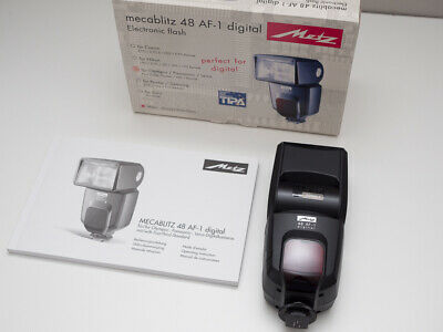 METZ Mecablitz 48 AF-1 digital flash for OLYMPUS and PANASONIC micro four thirds