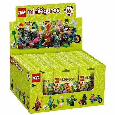 LEGO Series 19 Collectible Minifigures Box Case of 60 Minifigures 7102 -IN STOCK