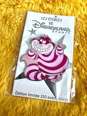 Disney Pin DLP - Star Cheshire Cat Alice - Les Etoiles / Disneyland Paris - NEW