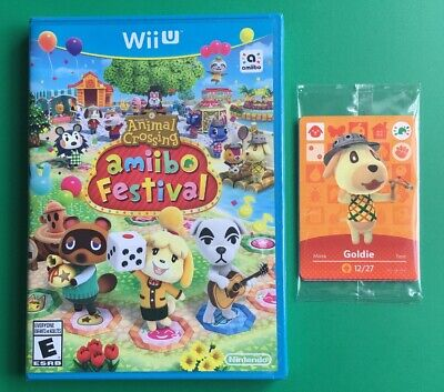Animal Crossing Amiibo Festival Game & Amiibo Cards Brand New Factory Sealed!