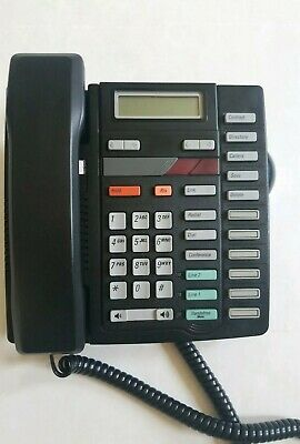 Northern Telecom Office Telephone Home Desk Phone 2 Lines Made In Canada M9417