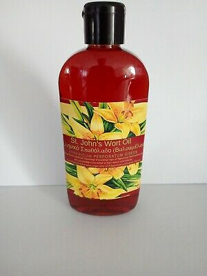 St' Johns Wort Oil Hypericum Perforatum(Harvest 2019) 150ml Melianthus Greek