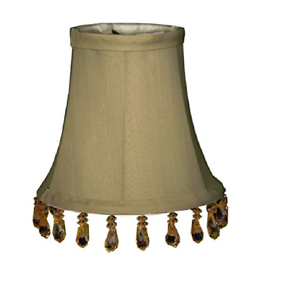 Shop Royal Designs Blue Modified Bell Chandelier Lamp Shades