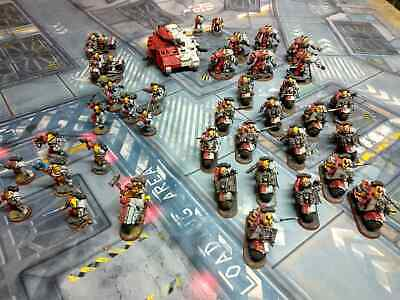 Pro painted warhammer 40k space marine storm lords force