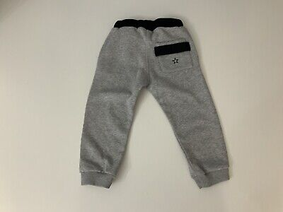 Givenchy Grey & Black Jogging Bottoms Boys Age 2 Years Vgc