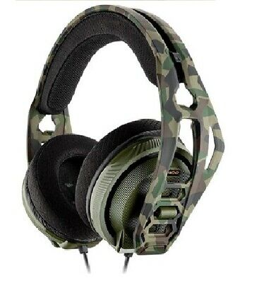 Plantronics RIG 400HX Camo Stereo Gaming Headset for Xbox One- Forest Camo