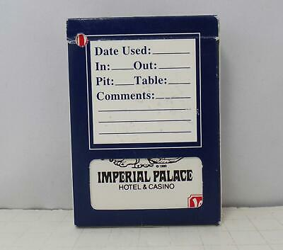 Imperial Palace Hotel & Casino, Las Vegas Playing Cards