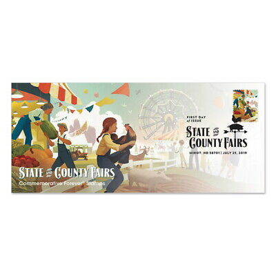 USPS New State and County Fairs Cachet