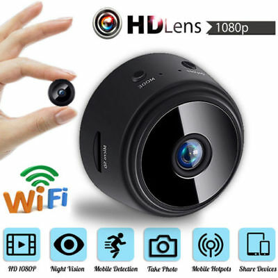 A9 Mini Camera Wireless Wifi IP Home Security Full HD 1080P DVR Night Vision