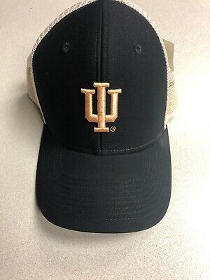 Ouray NCAA Indiana Hoosiers Soft Mesh Sideline Hat Navy One Size New