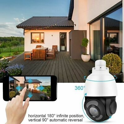 Outdoor Wifi Ip Camera 30X Zoom Optical Cctv Ptz Hd 1080P Dome Security new