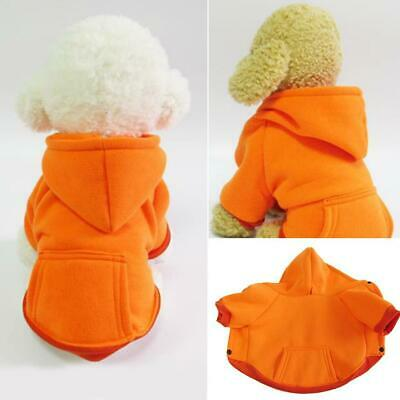 Small Cute Pet Dog Clothes Puppy Warm Sweater Hoodie Coat Costume