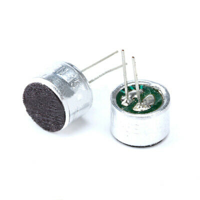 9x7mm Electret Condenser Microphone Capacitor Pickup -50dB 2Pin Mike Mini Mic