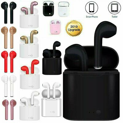Bluetooth Earbuds For IOS Android Apple Pods Style Wireless Headsets Headphones