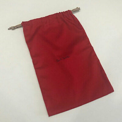 Paul Smith Drawstring Dust Bag for Shoes Red