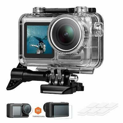 Waterproof Housing Case Underwater Photography for DJI OSMO Action Camera No Fog