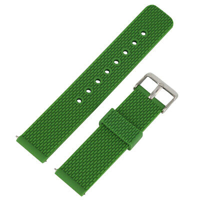 8 Colors Rubber Silicone Watchband Replacement Bracelet Band Strap Waterproof