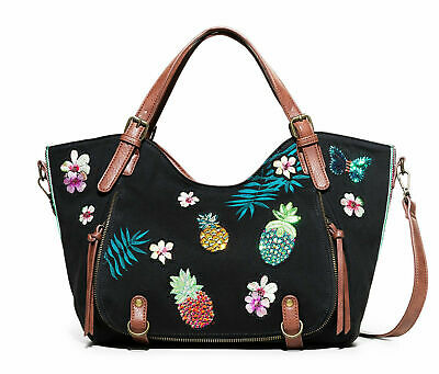 Avec Desigual Anse Mexican Double Cards Loverty Neuf Etiquette Sac fyY7vIb6g