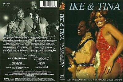 Dvd Ike & Tina On The Road 1971-1972