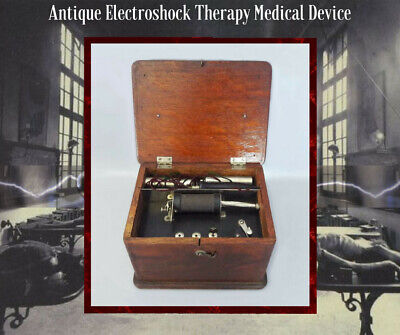 Antique Electroshock Therapy Medical Device Quack Medicine Science Steampunk