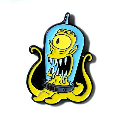 The Simpsons Drooling Kodos Alien Figure Embroidered Patch NEW UNUSED