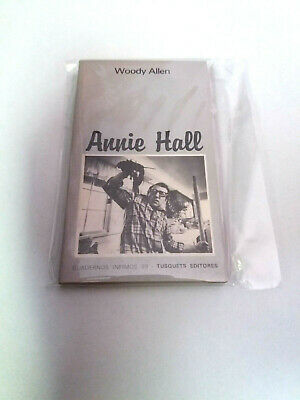 "Woody Allen ""Annie Hall"" Libro En Buen Estado Guion"
