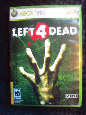 LEFT FOR DEAD The Xbox 360 Game 1 & 2 Bundle Lot, Good Condition w/ Manuals