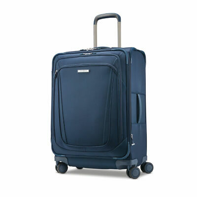 """Samsonite Silhouette 16 Expandable 25"""" Upright Spinner Checked Luggage"""