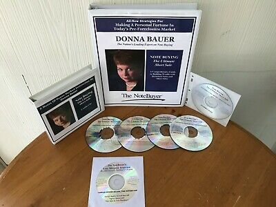 Notebuying The Ultimate Short Sale Course By Donna Bauer - MANUAL & 6 CD PACKAGE
