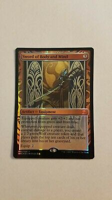 1x Sword of Body and Mind Kaladesh Inventions MTG Magic The Gathering NM-LP/SP