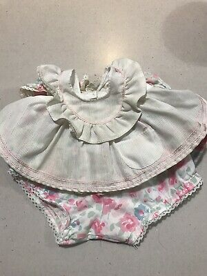 My Child Doll Original Pink And Mint Pinny Dress Outfit