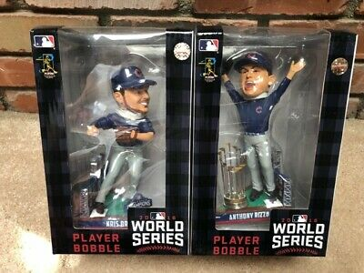 Chicago Cubs Kris Bryant / Anthony Rizzo World Series Final Out Bobbleheads NIB